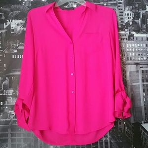 Outback Red Fuschia Top